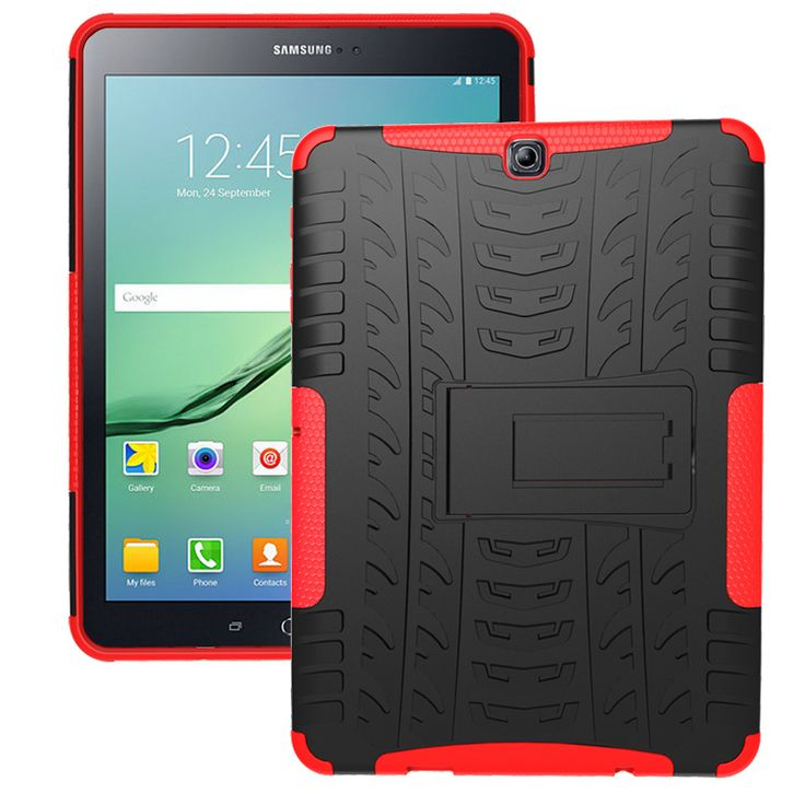 Cheap for samsung galaxy tab, Buy Quality tablet case directly from China case for samsung tab Suppliers: For Samsung Galaxy TAB S2 9.7 Case 2 in 1 Rugged Armor TPU + PC Capas for Samsung TAB S2 9.7 SM-T810/813/815C/819C Tablet Case