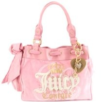 Juicy Couture Velour Daydreamer Tote Handbag PUrse ~ Pink In Color From Juicy Couture - Bags or Shoes Shop