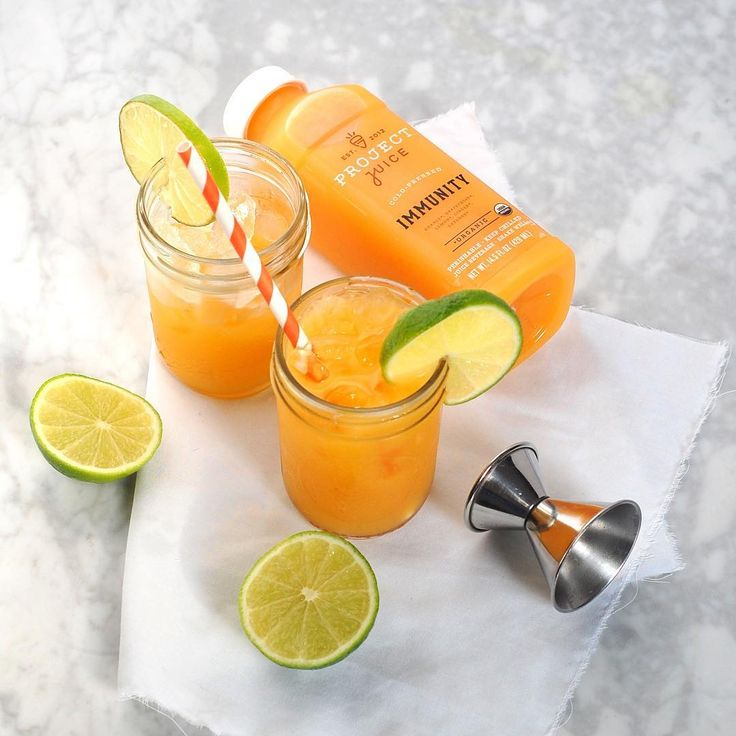 Healthy Summer Cocktail?? Yes, it's true! Mix 2 oz of tequila with your fave juice for a tipsy summer treat.