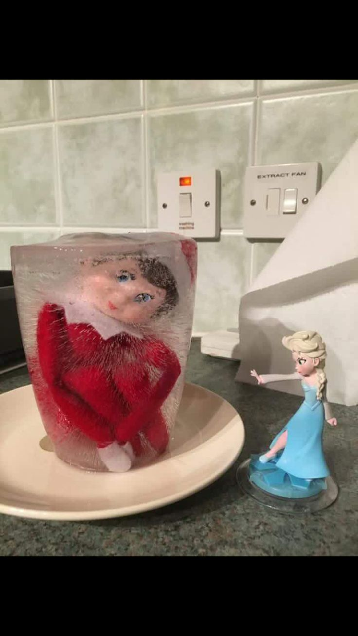 Brings the spirits for both Elsa and your elf on the self !!!!