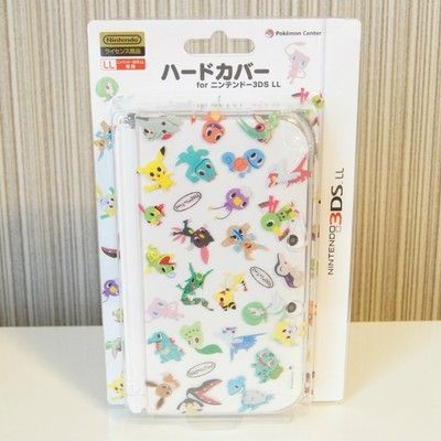 Pokemon center Hard cover for Nintendo 3DS LL XL Pokemon time case from Japan - http://dynamicvideogames.com/2014/02/03/pokemon-center-hard-cover-for-nintendo-3ds-ll-xl-pokemon-time-case-from-japan/