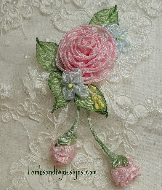 Pink rose buds by lambsandivydesigns via flickr