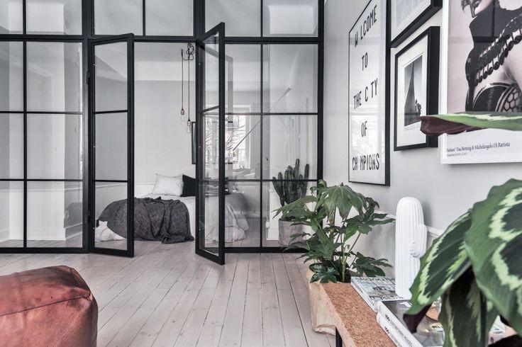 13 sätt att inreda med trendig glasvägg | ELLE Decoration