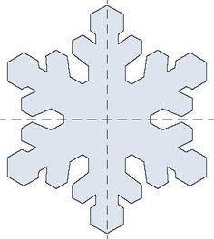 frozen snowflake printable cutout - Google Search