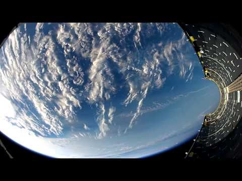 SpaceX strapped a GoPro inside a Falcon 9 rocket and captured this spectacular footage of Earth - Yahoo Finance