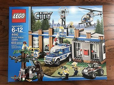 LEGO - 4440 - City - Forest Police Station - New Sealed Box...