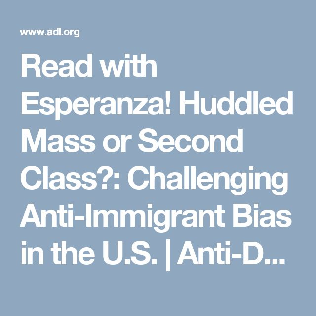 10 best esperanza rising images on pinterest teaching reading read with esperanza huddled mass or second class challenging anti immigrant bias in the u ccuart Gallery