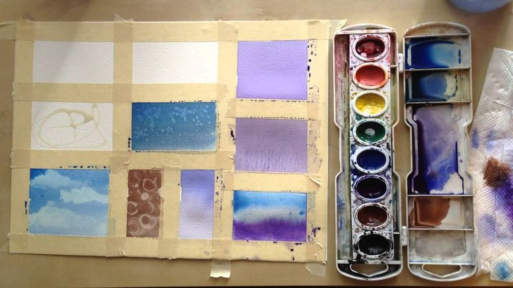 In this tutorial you will learn 13 watercolor techniques that can help you create texture and different affects in your watercolor paintings. If you are a be...