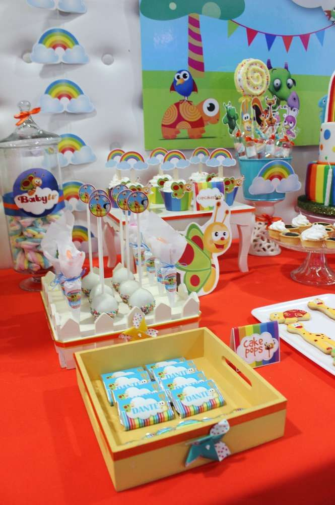 Baby TV Rainbow  | CatchMyParty.com