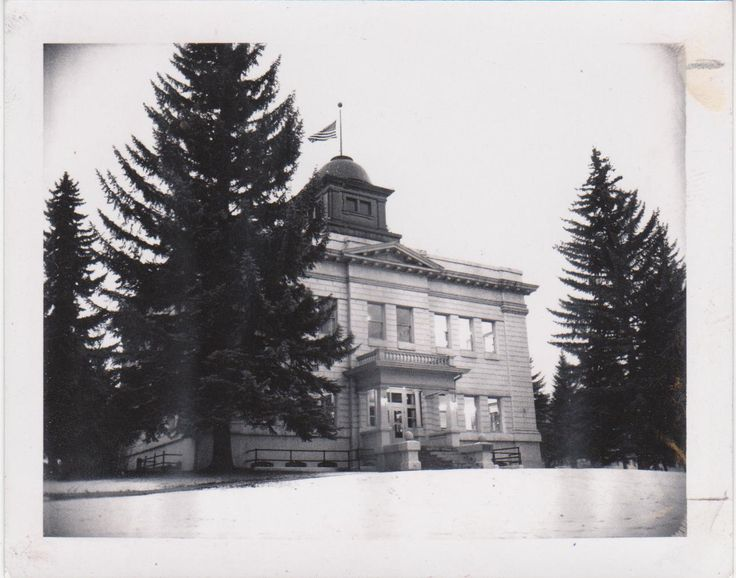 White Pine County Court House Ely, Nevada ~1953