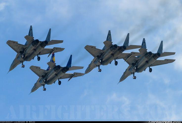 "Royal Malaysian Air Force Mikoyan MiG-29N ""Fulcrum"" four-ship flypast"
