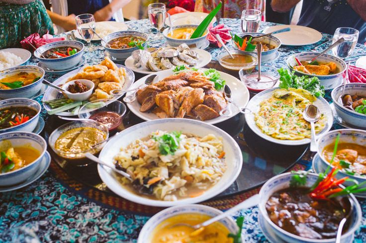 Festin à Malacca, Malaisie