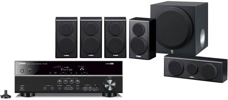 #Yamaha YHT-398 - Nouveau pack Home-Cinéma 5.1 enceintes + amplificateur