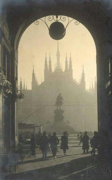 Milano, vintage pic.
