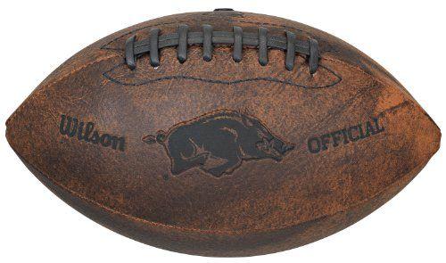 NCAA Arkansas Razorbacks Wilson 9-Inch Throwback Football Gulf Coast Sales http://www.amazon.com/dp/B0053QWBZS/ref=cm_sw_r_pi_dp_TLymvb02HDT5M