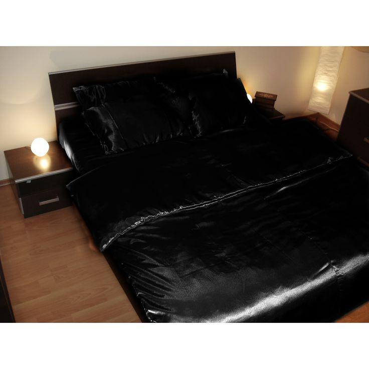 Trendylook : Lenjerie de pat, neagra