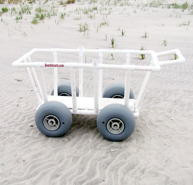 Beach It Pvc Beach Carts 187 4 Wheel Big Boy Cart Beach