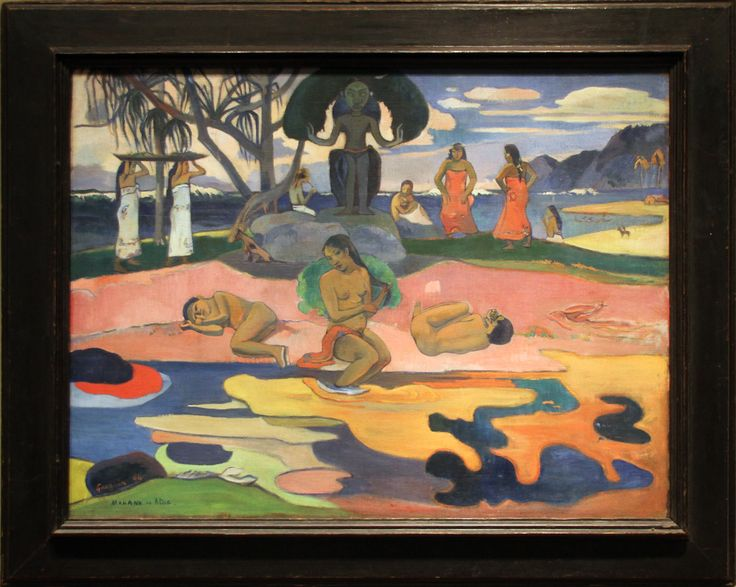Paul Gauguin - Day of the God (Mahana no Atua) 1894
