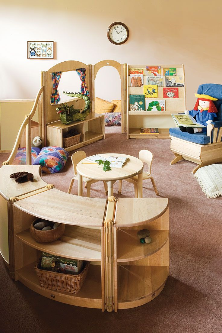 Transforming spaces: Lay out a classroom your children won't want to leave.