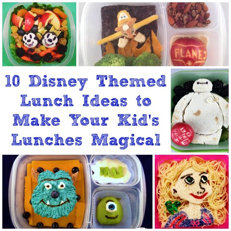 10 disney lunch ideas that you can use to help give excitement to school lunc. Black Bedroom Furniture Sets. Home Design Ideas