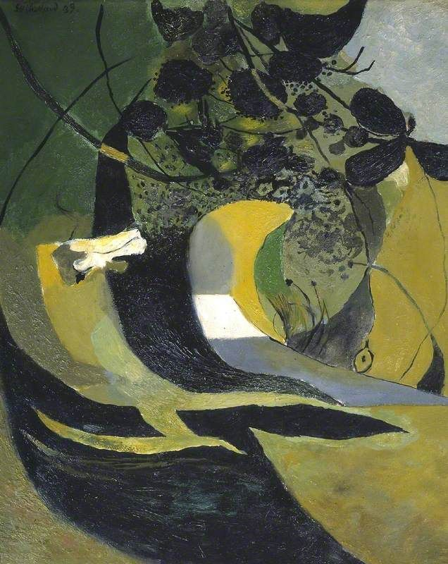 Entrance to a Lane, 1939 by Graham Sutherland (English 1903–1980)