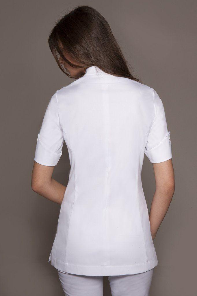 Best 10 spa uniform ideas on pinterest salon wear for Spa uniform white