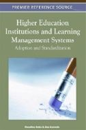 This book provides insights concerning Learning Management Systems on Higher Education Institutions. The book aims to increase understanding of LMS adoption and usage providing relevant academic work, empirical research findings and an overview of LMS usage on Higher Education Institutions all over the world.