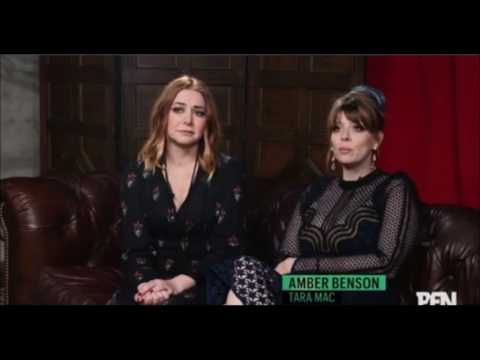 Amber Benson & Alyson Hannigan discuss Willow/Tara at 20th Anniversary - YouTube