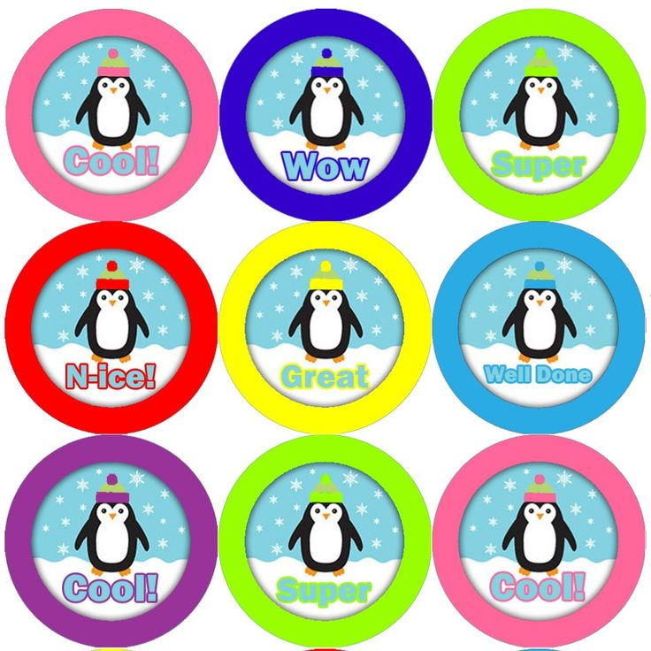<p>These Penguin themed reward stickers are perfect to make a big impression on young learners and can be used with any Reward System.</p>
