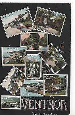 Isle of Wight postcard Ventnor franked 1910