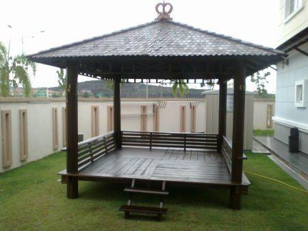 Pusat pembuatan produk Gazzebo rumah dengan kayu kelapa sulawesi serta jaminan kualitas nomor satu  more info please conytact : 085 2007 34135