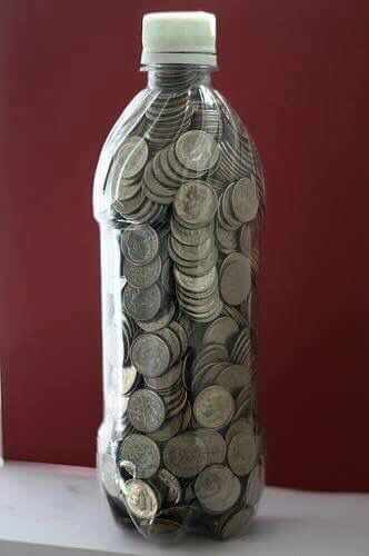 Save dimes in a 2 liter bottle. When full you'll have between 550-700 dollars! Make it a family challenge!!
