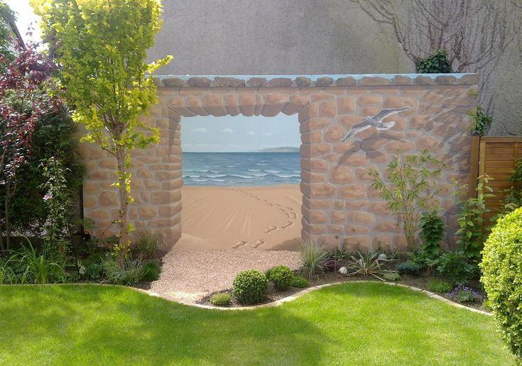 Wände außen, Illusionen - Ich male Ihre Wünsche wahr.Wandmalerei,Fassaden,Kunst,Farbe,Bilder