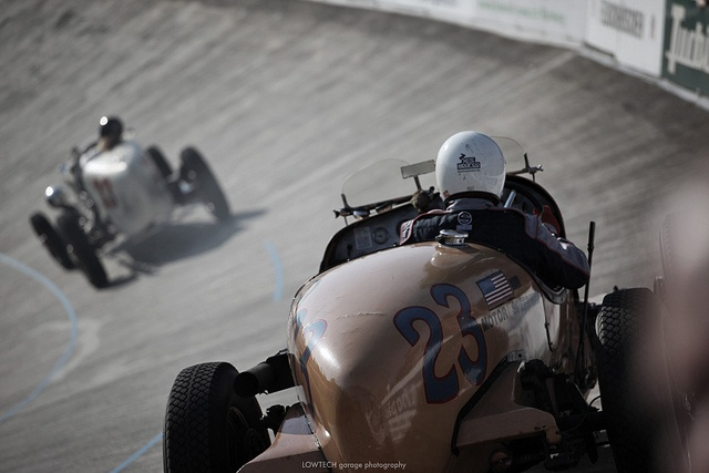 An 80-year-old American car on a 100-year-old Swiss racetrack. Buick Indy Racer by LOWTECH garage photography, via Flickr
