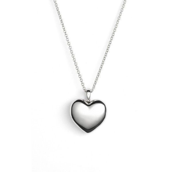 PANDORA 'Love' Heart Locket Necklace (£105) ❤ liked on Polyvore featuring jewelry, necklaces, accessories, silver, heart locket, pandora jewellery, heart locket necklace, locket jewelry and heart shaped locket