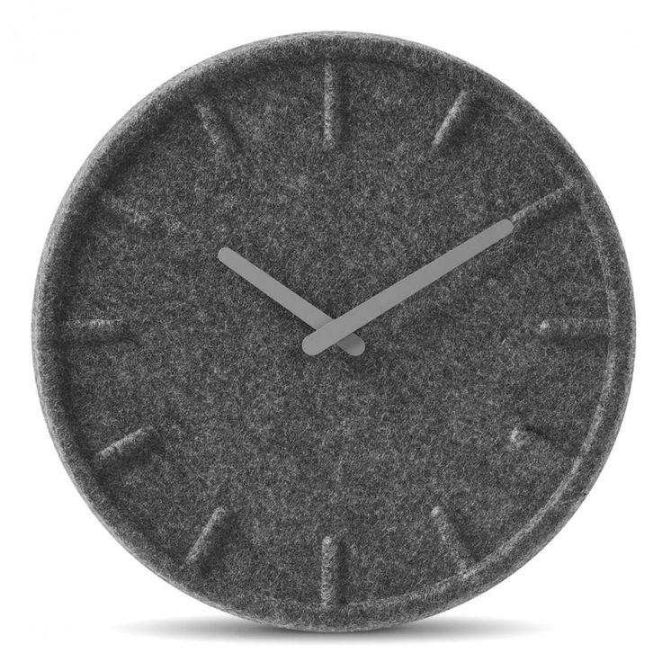 Felt Clock design by Sebastian Herkner for Leff Amsterdam | Tododesign by Arq4design