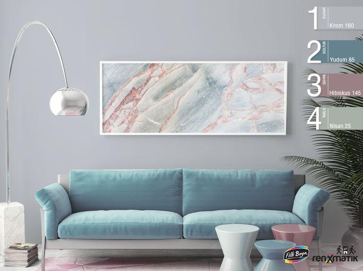 Pastel tonlarla elegant bir hava yakalayabileceğiniz tüm renkler Filli Boya'da! https://goo.gl/aTjvKK
