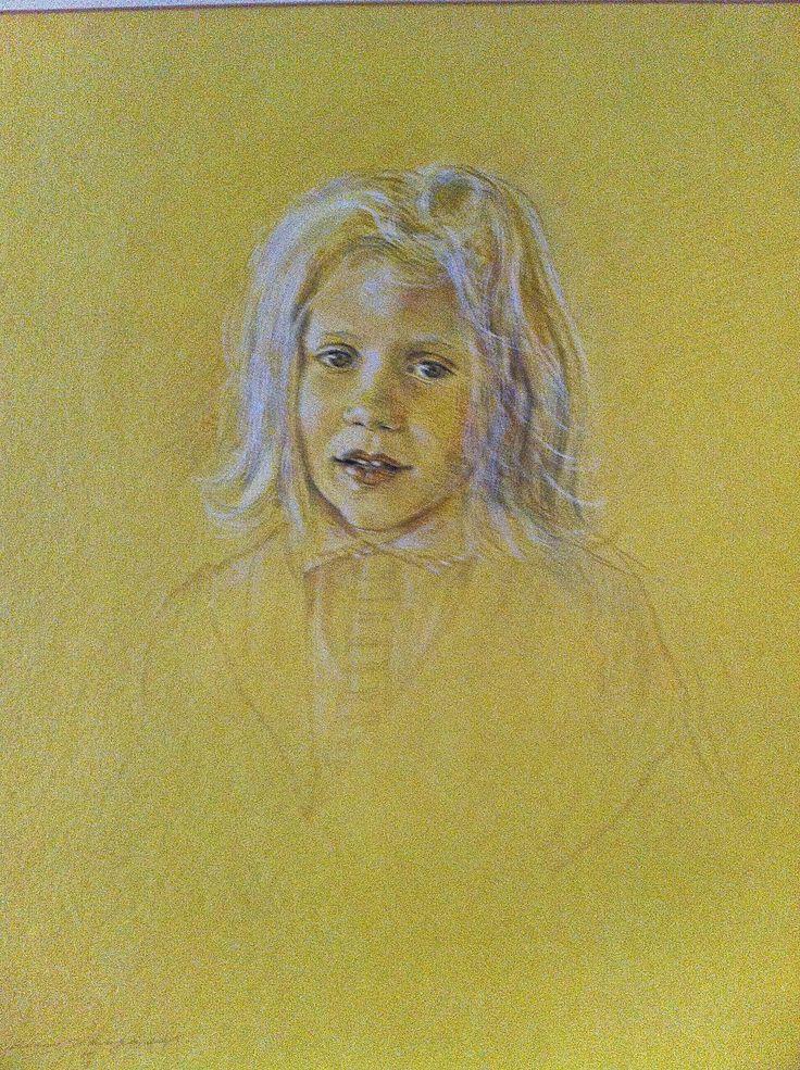 Portrait of Pepita Vicuña Barriga