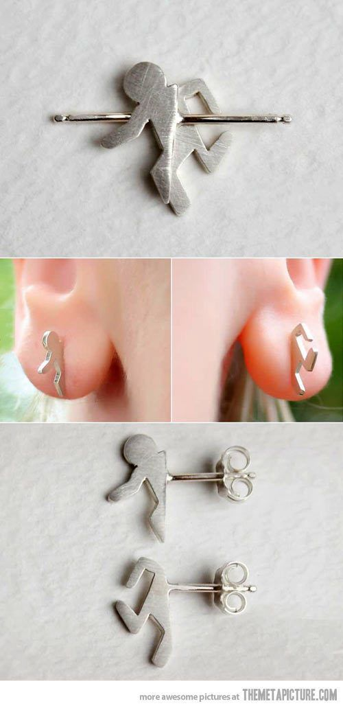 portal earrings!!