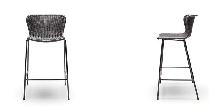 C603 STOOL Bar stool designed in the 60's by Japanese designer Yuzuru Yamakawa . Dimensions (mm) W520 x D480 x H940 (SH 660) Feelgood Designs