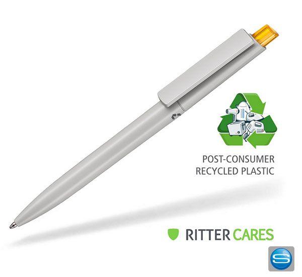 Recycelte Kugelschreiber als umweltfreundliches Werbegeschenk