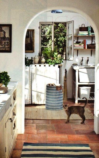 Inviting kitchen.