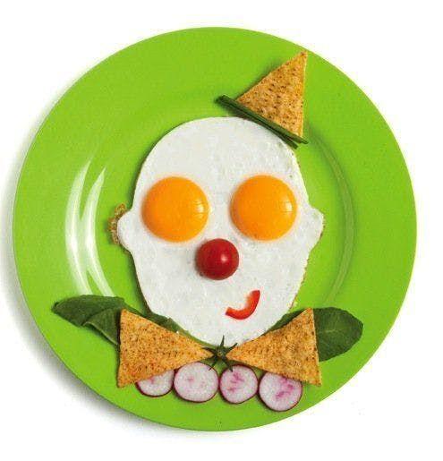 20 photos de petits déjeuners rigolos pour enfants en 2020 | Photo petit déjeuner, Œufs frits ...