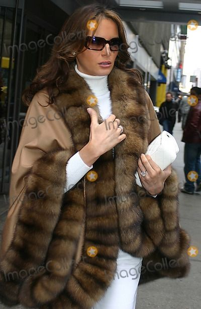 Melania Trump, FRIARS CLUB Photo - Melania Trump Leaving the Friars Club Luncheon on October 28, 2005 at the New York Hilton Hotel. Photo by...