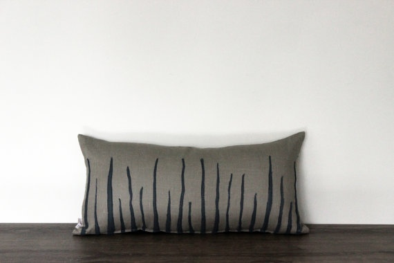 Decorative Pillow Case by Lempi design Verso linen by LEMPIDESIGN, $55.00