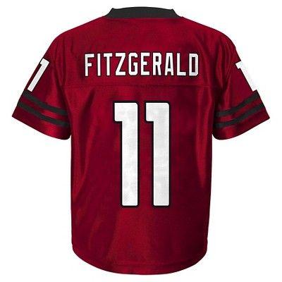 Arizona Cardinals Boys' Larry Fitzgerald Jersey - Team Color XS, Multicolored