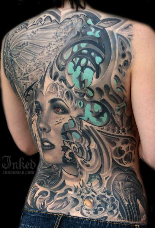 Back piece by Rember Orellana