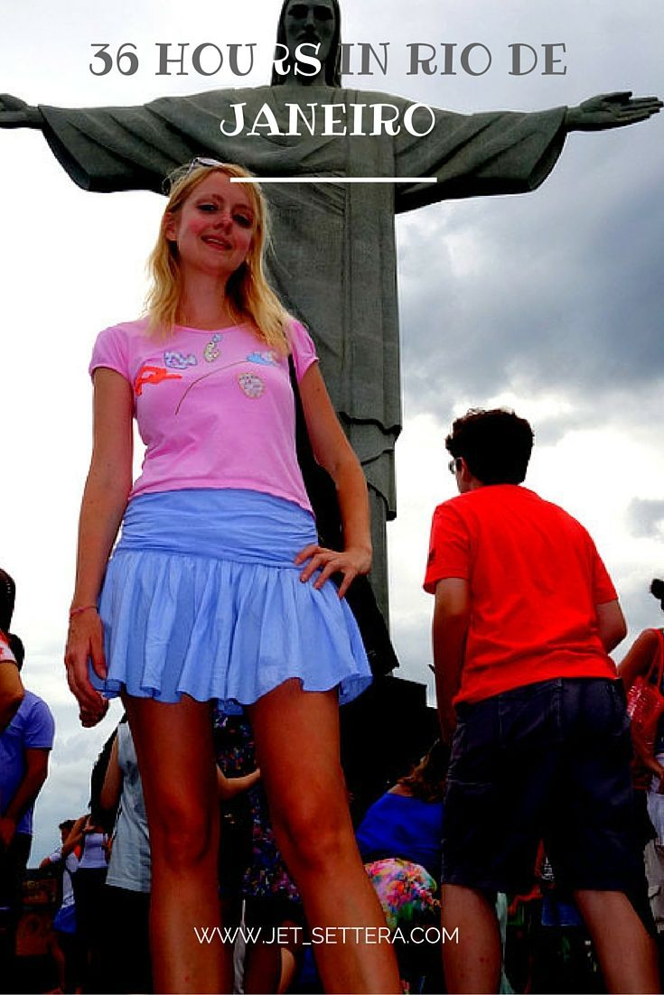 Read about my quick trip to Rio - 36 hours in paradise aka Rio de Janeiro…