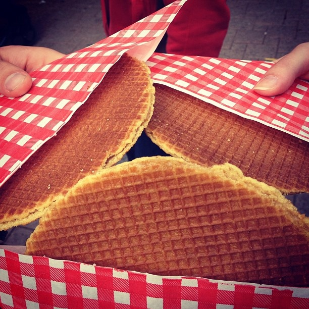These are the XL Stroopwafels from the Albert Cuyp market, best in town! #greetingsfromnl