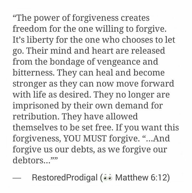 Short essay about forgiveness